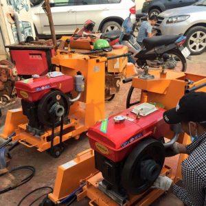 Máy cắt bê tông chạy dầu D8