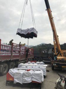 Vận chuyển máy móc Trung Quốc